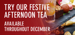 Try our festive afternoon tea